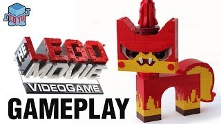 LEGO Movie Videogame Unikitty Angry Kitty Gameplay / Видео