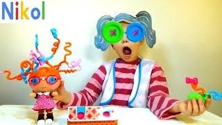 Куколки Лалалупси с цветными волосами открывает Николь !