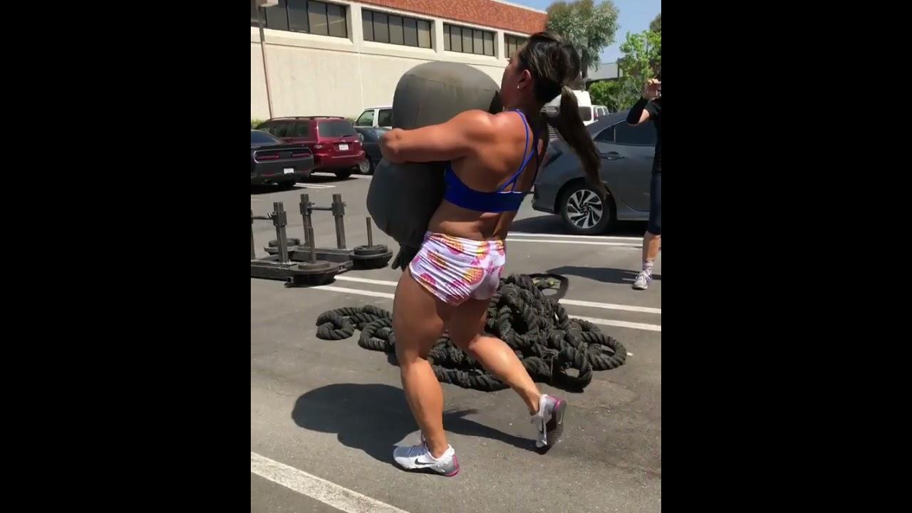 Crossfit Monster Girl - Workout Motivation | Crossfit Athlete #shorts