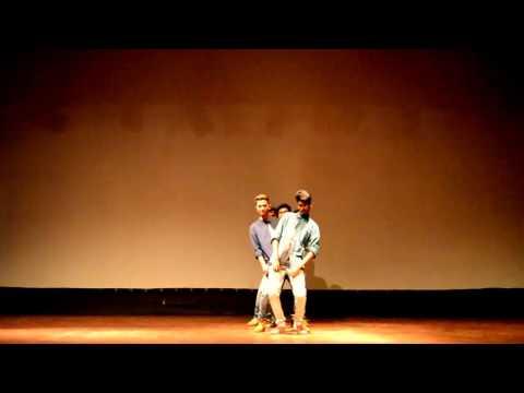 neethone dance tonight choreo || choreographer:VVK || IIT kharagpur || TCA || sankranthi2k17