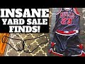 You Won't Believe These Yard Sale Finds! - CRAZY Vtg CHICAGO BULLS SCORE | Ralli Roots