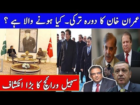 PM Imran Khan visits Turkey Chances Of NRO for Nawaz Sharif and Shahbaz Sharif