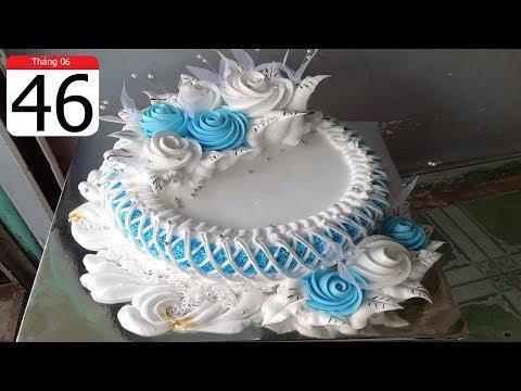 BANH KEM DON GIAN SANG TRONG DEP ( 46 ) SIMPLE NICE CAKE  ( 46 )