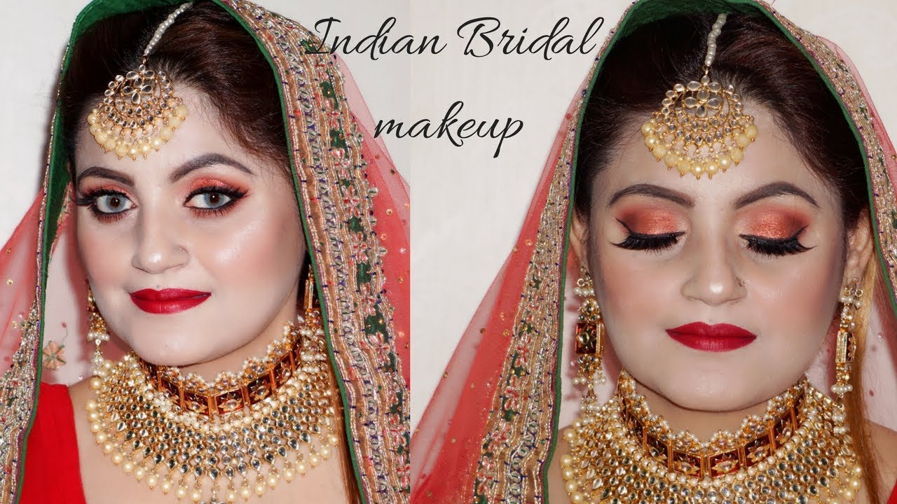 How To Do Your Own Makeup On Wedding Indian Bridal Using Huda Beauty New Launches