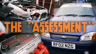 MK5 Pumesta Project | Part 5 | Assessing The Crashed Donor Car