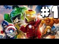 LEGO Marvel Superheroes - Part 1 - Xbox One HD Gameplay Walkthrough