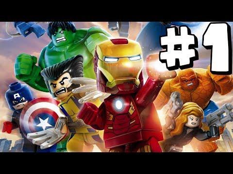 LEGO Marvel Superheroes - Part 1 - Xbox One HD Gameplay Walkthrough