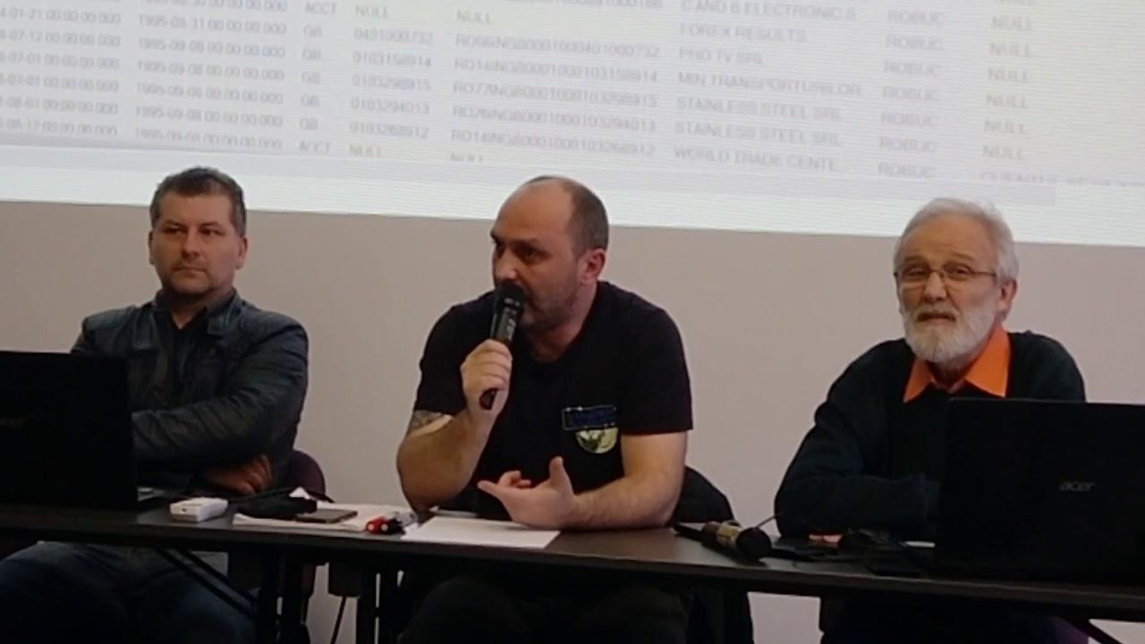 Conferinta - Raul Coltor: Furtul de Identitate
