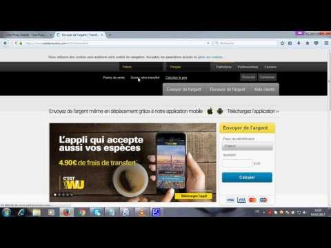 Western Union transfert en ligne