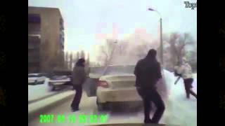 Смешные женщины за рулем авто   видео приколы август 2013