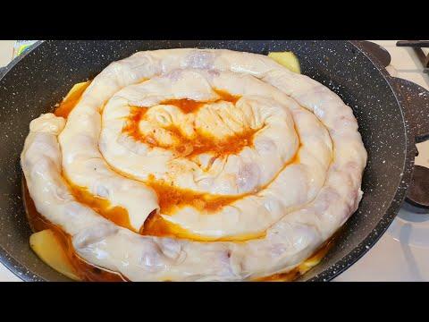 Бомбический Рецепт.   Ханум на Сковородке