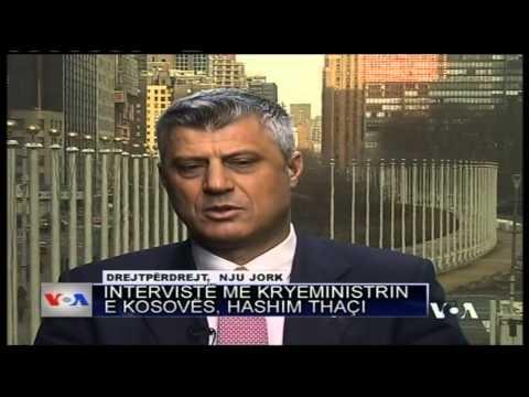HASHIM THACI Interviste PER VOA ABCNews 23 Mars