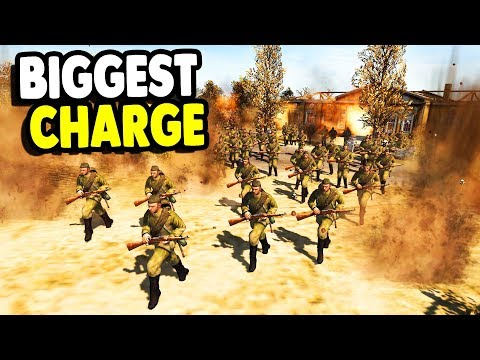 Unstoppable Infantry SWARM Crushes ENEMY | RobZ Realism | Men of War: Assault Squad 2 Gameplay