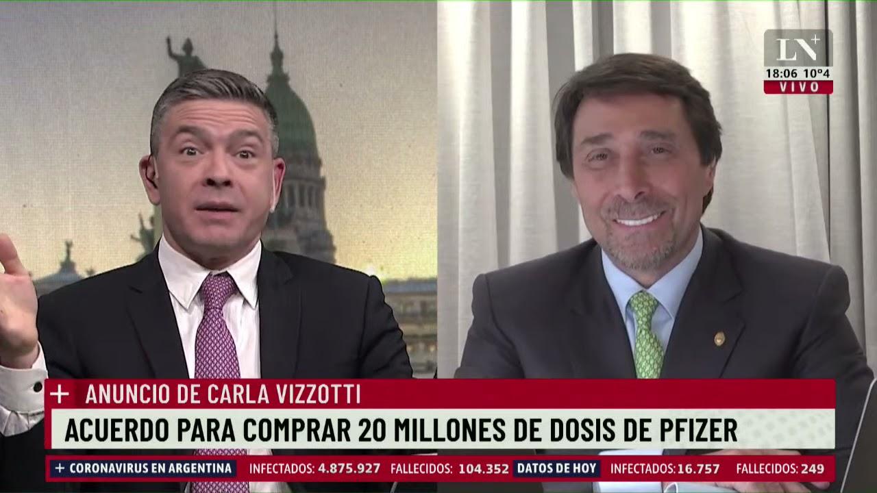 Download Acuerdo para comprar 20 millones de dosis de Pfizer. Pablo Rossi con Eduardo Feinmann