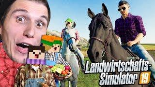 Diese Pferde können FLIEGEN | Landwirtschafts Simulator 2019 #13
