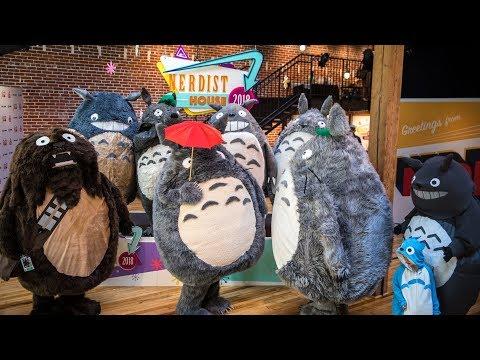 Adam Savages Totoro Meetup at Comic-Con!