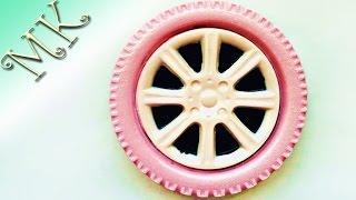 Мыло для автомобилистки/Мыло колесо/Розовое мыло/Мыловарение/Мастер класс/Мыло из мыльной основы/DIY