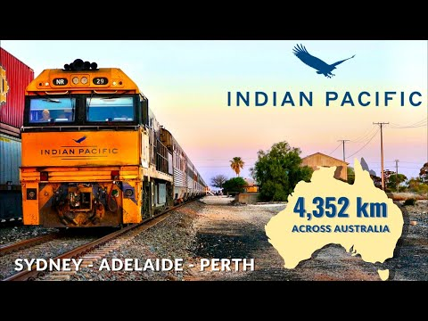 The INDIAN PACIFIC: Australia's Greatest Train - Sydney to Perth | Full Trip Video