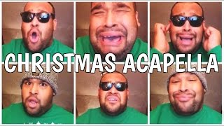 SINGING CHRISTMAS SONGS IN ACAPELLA