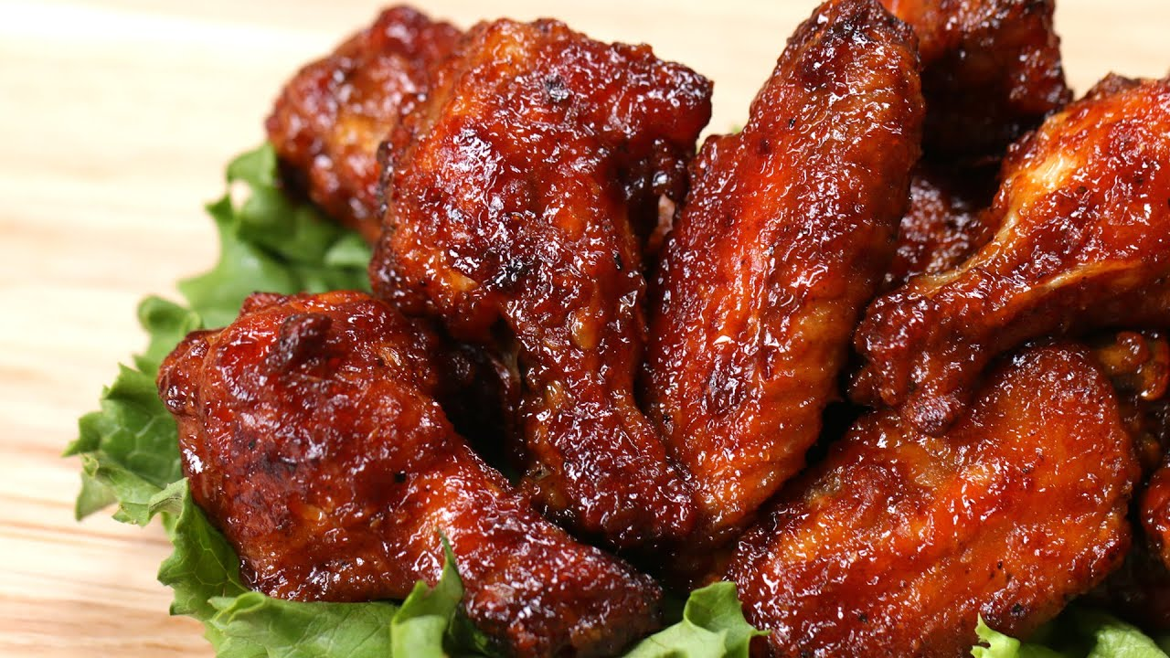 HONEY BBQ WINGS RECIPE