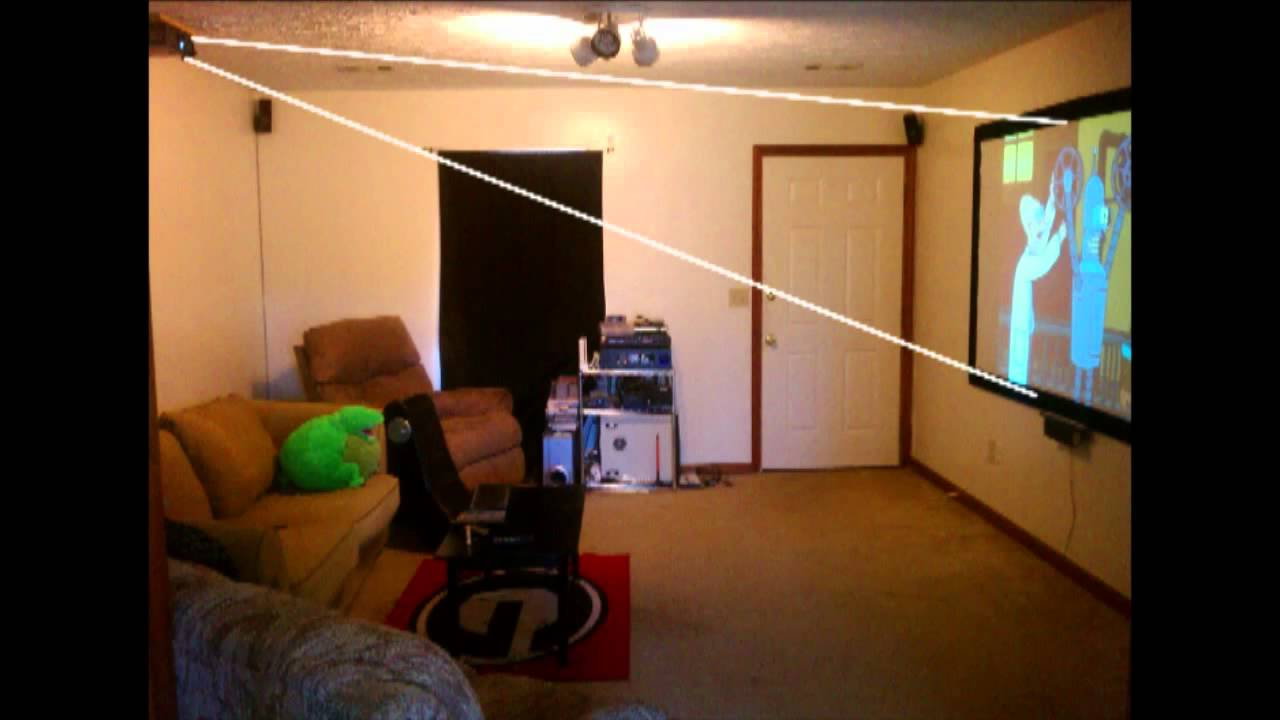 Wiring A Home Theater Projection Tv Diagram Libraries Projector Setup Youtube