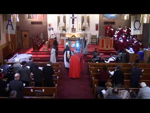 """""""Siyahamba"""", Absalom Jones Day Processional, Episcopal Diocese Chicago, 02 11 18"""