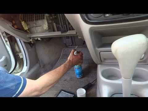 Чистка кондиционера очистителем LAVR. Прощайте жители наших кондеев! - Смешные видео приколы
