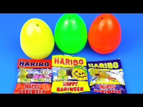 Haribo Candy Minions Egg Surprise Kinder toys HELLO KITTY Смешарики Сюрприз Миньоны