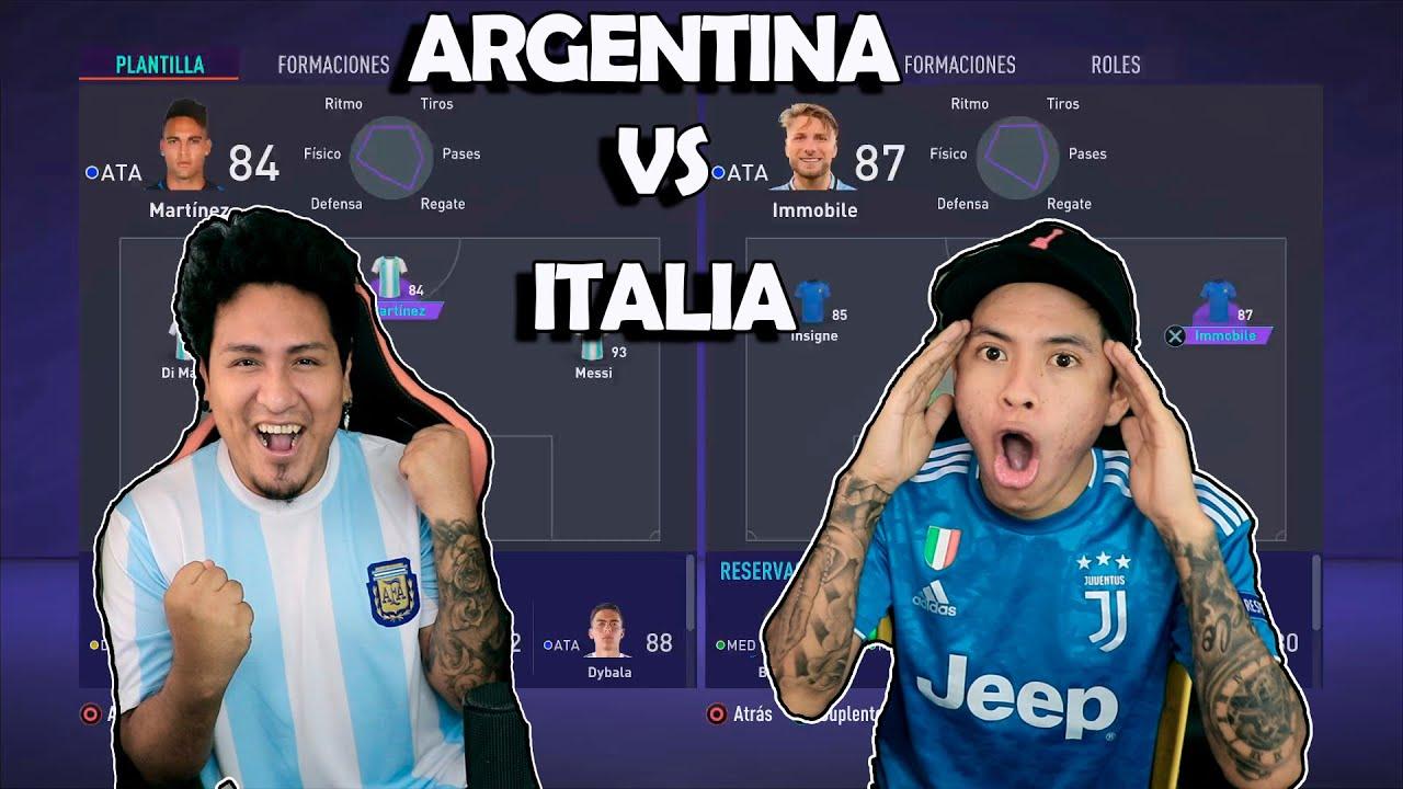 MESSI vs ITALIA !!! EL CAMPEON DE LA COPA AMERICA vs EL CAMPEON DE LA EUROCOPA!! FUTSAL vs FUTBOL 11