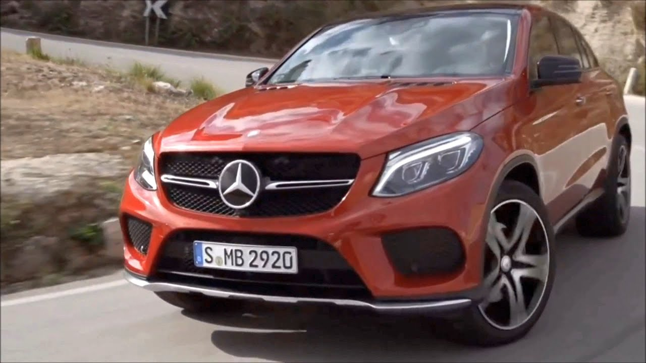 2016 Mercedes Benz Gle 450 Amg 4matic Coupe Road And