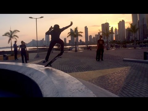 A Day of Street Skateboarding in Panama City