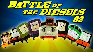 BATTLE of the DIESELS !!! 82 Thomas and Friends World