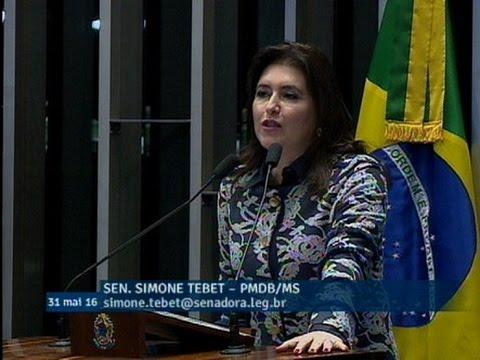 Simone Tebet defende aumento de pena para estupros coletivos