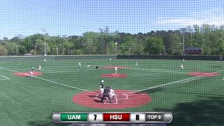 Reddies Baseball vs. Arkansas-Monticello (Game 3)   April 15, 2019