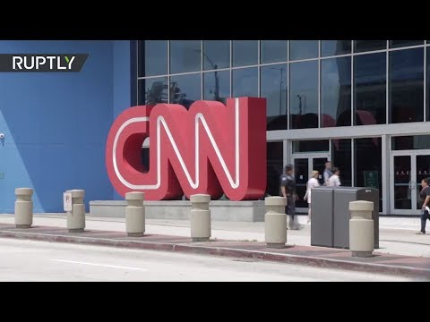 Pro-Trump protesters decry 'fake news' outside CNN Atlanta HQ