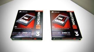 SSD RAID! Corsair Neutron GTX Unboxing (Neutron GTX SSD - UGPC 2012)