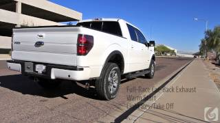 full race 2011 ford f 150 ecoboost 3 inch exhaust system