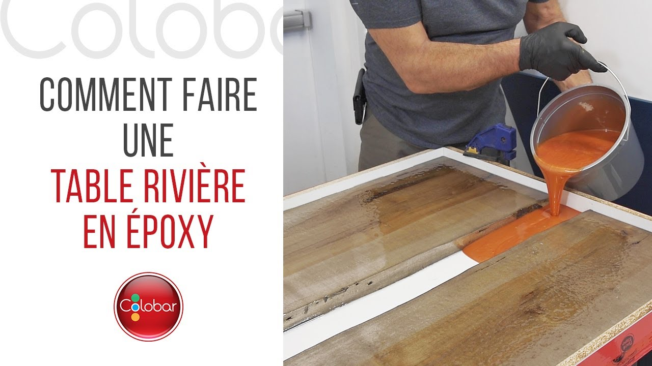 Comment Faire Une Table Riviere En Epoxy Youtube