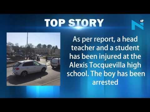 17-yr-old boy arrested in France school shooting