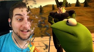 I Don't Feel So Good Mr. Kermit... | Kaggy Reacts to Cell X Kermit Infinity War Part 1 & Others