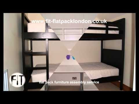 Flat pack Installation Titan – furniture assembly service in London – 02036640640