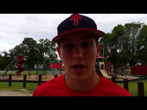 Pittsfield player Jack Cooney discusses getting ready for the Babe Ruth World Series,  on and off th