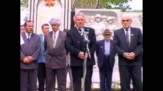 Часть 2. Хабеков Умар Хамидович Герой Советского Союза. Открытие памятника в 1995 году.