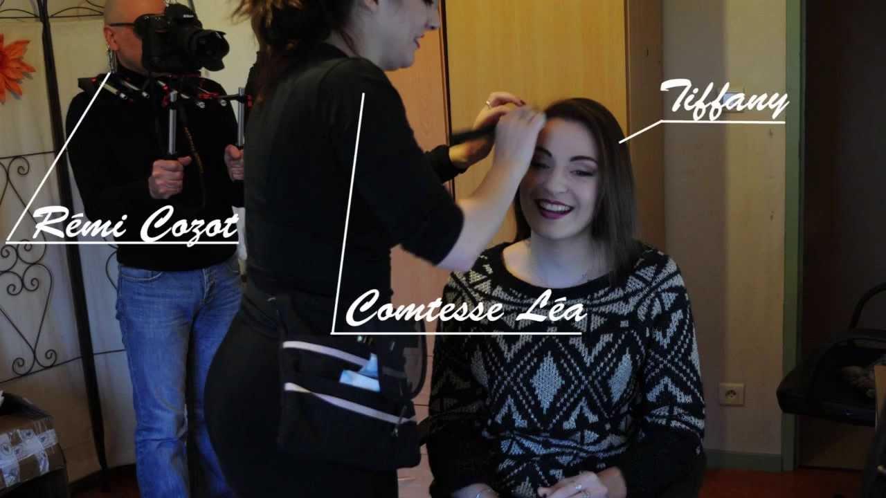 Shooting Vinyl Factory Backstage Make-Up & Hair