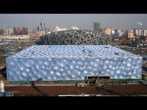 Magic Water Cube - Beijing National Acquatics Park Center, China