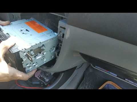 2 DIN Pioneer MVH-AV180 Как правильно установить магнитолу в Шевроле Лачети