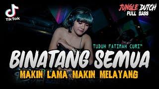 DJ BINATANG SEMUA !! TIK TOK VIRAL ( JUNGLE DUTCH EXTRA FULL BASS 2021 TERBARU )