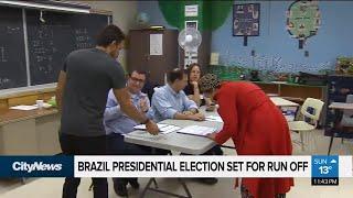 Brazil presidential election set for run off