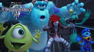KINGDOM HEARTS III - D23 Expo Japan 2018 Monsters, Inc. Trailer [multi-language subs]