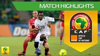 Ghana vs Tunisie - Orange Africa Cup of Nations, GABON-EQUATORIAL GUINEA 2012